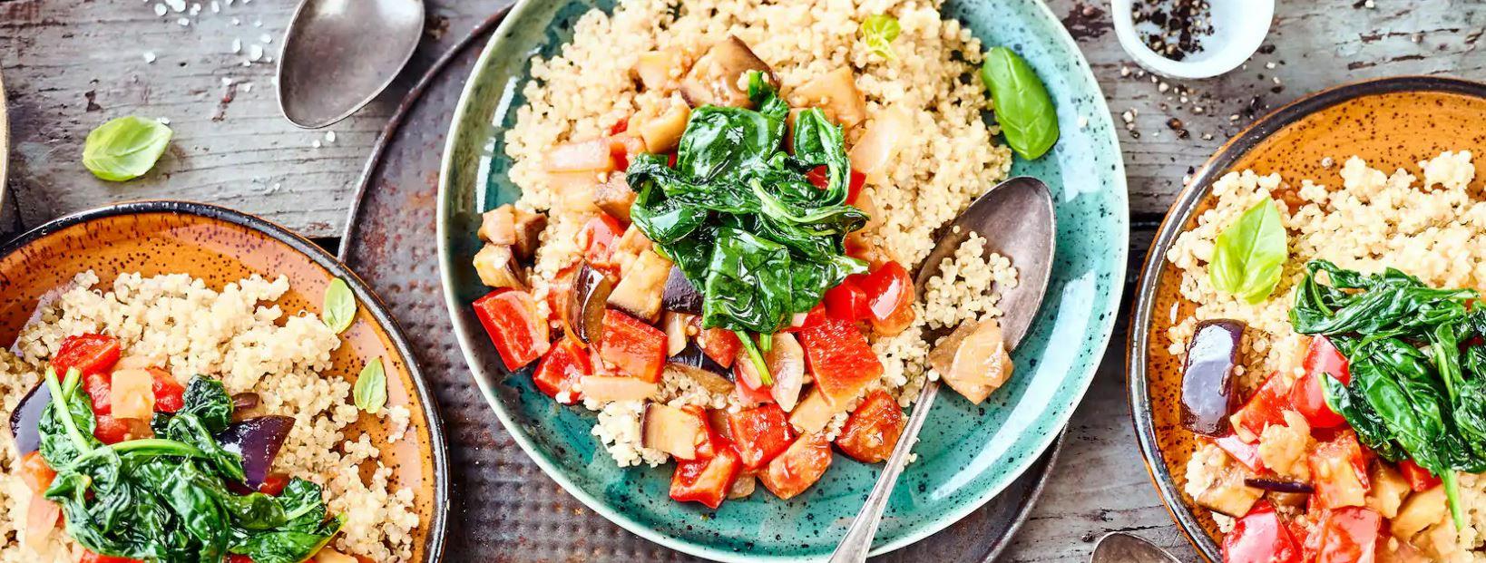 Quinoa-Ratatouille- Rezepte
